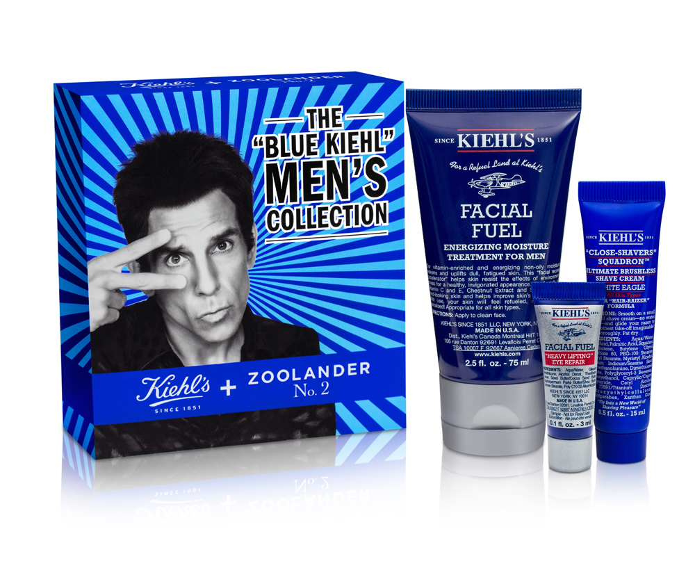 Kiehl's and Derek Zoolander Team Up to Help Make Us Really, Really, Ridiculously Good-Looking